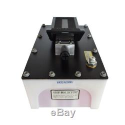 10000PSI Air Hydraulic Foot Pump 200 Cubic Plastic Shell Single Acting