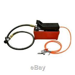 10000PSI Pneumatic Hydraulic AF1 Electric Foot Pump 90-145PSI Input Air Pressure