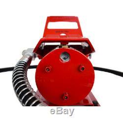 10000PSI Porta Power Air Hydraulic Foot Pump Control Lift 6ft Hose