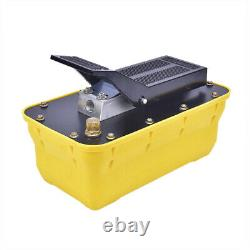 10000 PSI Auto Body shop Air Hydraulic Foot Pump Foot Pedal High Pressure Tool