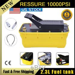 10T Air Foot Pedal Hydraulic Pump For Auto Body Frame Machines AND Shop Presses