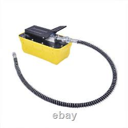 10T Air Pedal Hydraulic Pump For Auto Body Frame Machines And Shop Presses 2.3L