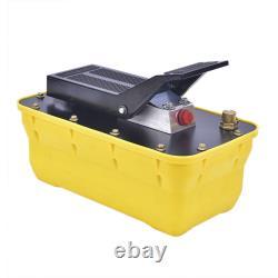 10,000PSI 2.3L Air Hydraulic Foot Pedal Pump AUTO Body Frame Machines Pneumatic