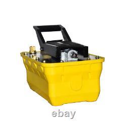 10,000 PSI Air Hydraulic Foot Pedal Pump Auto Body Frame Machines Pneumatic 2.3L