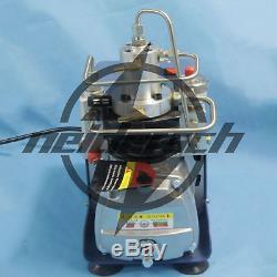 110V 30MPa PCP Electric Air Compressor Pump High Pressure System Rifle