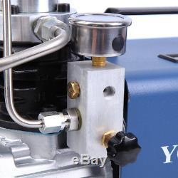 110V 30Mpa PCP Electric High Pressure System Air Pump Compressor 4500PSI