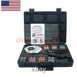 1500 Hydra-Krimp A/C Hose Hydraulic Crimper Kit Air Conditioning System US