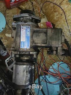 1995 12 valve cummins holsett air compressor with sunstrand hydraulic pump