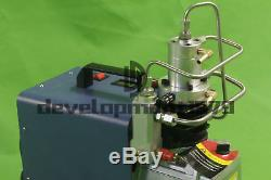 1PCS 30MPa 4500PSI Air Compressor Pump Electric High Pressure System Rifle 110V