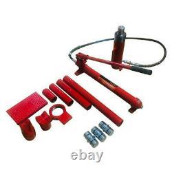 20 Ton Hydraulic Jack Air Pump Lift Porta Power Ram Repair Tool Kit Frame Repair