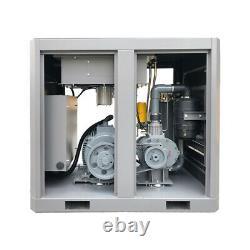 219 CFM 116 PSI Rotary Screw Air Compressor 230V 3-Phase 50 HP