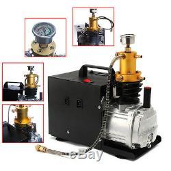 220V 40Mpa Electric Pump PCP Air Compressor 4500PSI 300BAR Air Rifles Cylinder