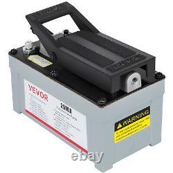 2510A Air Powered Hydraulic Foot Pump 10000 PSI Power Pedal Pressure Pump