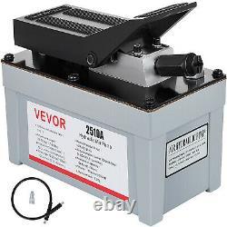 2510A Air Powered Hydraulic Foot Pump 10,000 PSI Power Pedal Pressure Pump