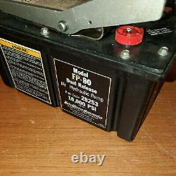 28253 Hein-Werner 10,000 PSI AIR POWERED HYDRAULIC PUMP FP-80 for Enerpac Torque