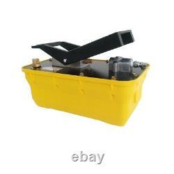 2.3L Air Hydraulic Auto Body Frame Foot Pedal Pump 10,000PSI