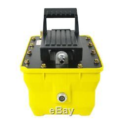 2.3L Air Hydraulic Foot Pedal Pump10000PSI Air Powered Hydraulic Pump Pneumatic