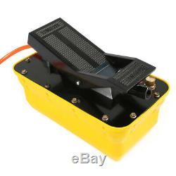 2.3L Air Hydraulic Foot Pedal Pump 10,000 PSI Auto Body Frame Machines Pneumatic