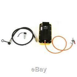 2.3L Air Powered Hydraulic Pump 10,000 PSI Multi-purpose Foot Operated Pump New