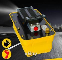 2.3L Girder correction pneumatic hydraulic foot pump Air-driven hydraulic pump T
