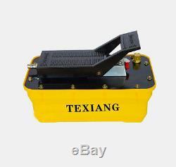 2.3L Girder correction pneumatic hydraulic foot pump Air-driven hydraulic pump Y