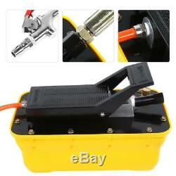 2.3L Liter Air Powered Hydraulic Pump 10,000 psi Pneumatic Foot Pedal Pump USA