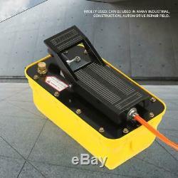2.3L Pneumatic Air Hydraulic Foot Pedal Pump 10,000PSI Auto Body Frame Machines