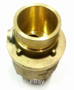 2 Grooved Check Valve 250 PSI Spring Loaded Fire Protection Pumps UL/FM