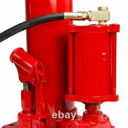 2-in-1 8 ton air manual Hydraulic Ram Jack Pump Engine Lift hoist Cherry Picker