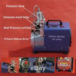 30MPa 110V PCP Electric Air Compressor Pump High Pressure System Rifle
