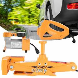 3Ton 12V Car Electric Floor Hydraulic Lift Air Pump With Impact Wrench Set