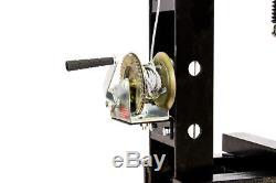 40 Ton Shop Press with Air Pump Pressure Gauge H-Frame Hydraulic Equipment 34