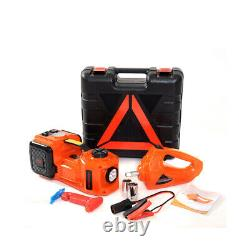 5T Car Electric Hydraulic Jack Stand Air Pump Electric Wrench Set Repair Lifting