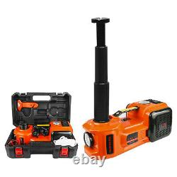 5Ton 3in1 Electric Hydraulic Floor Jack Air Pump 12V DC 5.0T(11023lb) Wrench Set