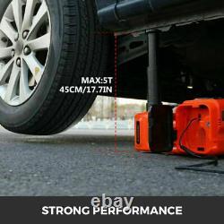 5Ton Car SUV Jacks Electric Hydraulic Floor Jack Air Inflator Pump Impact Wrench