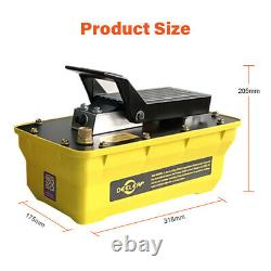 700bar 1.6L Air Hydraulic Pump Foot Operated Pump With 2M High Pressure Tubing