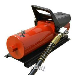 AF2 Pneumatic 10,000 PSI Air Hydraulic Pump Foot Pedal 48 With Hose & Coupler