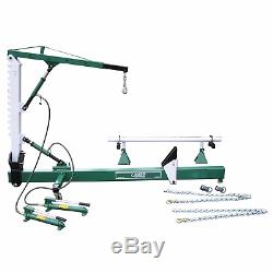 AIR/HYDRAULIC FOOT PUMPS INCLUDED (1) -JACKCO 10 TON BODY STRAIGHTENER WithCRANE