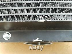 AKG universal forced air Oil Cooler with Hydraulic fan Motor 4-50 GPM HR45-0372