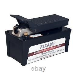 AME 15905 2.5 Quart Titan Air / Hydraulic Pump, Aluminum Reservoir 10,000 PSI