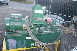 Abex Hydraulic & Air Equipent Hydraulic Power Pack Pump Fv6-2r1a-c00 5hp 5 Gpm