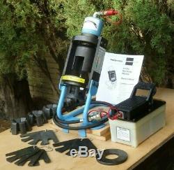 Aeroquip FT1310 Hydraulic Hose Crimper, PA-6 Air/Hydraulic 10,000 psi Pump