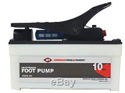Aff American Forge 806 10 Ton Air/Hydraulic Foot Pump