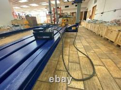 Air Foot Pedal Hydraulic Pump Auto Body Frame Machines Shop Presse Hose Coupler