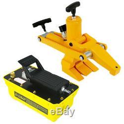 Air Foot Pedal Pump 2.3L Air Powered Hydraulic Pump Hydraulic Bead Breaker