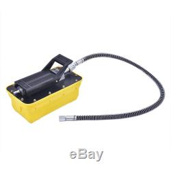 Air Hydraulic Foot Pedal Pump 10,000PSI Auto Body Frame Machines Pneumatic New