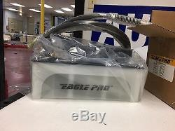 Air Hydraulic Foot Pump Eagle Pro 10000 PSI Foot Pedal High Pressure WITH HOSE
