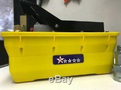 Air Hydraulic Foot Pump Pedal 10000 PSI 10ft Hose & Coupler Auto shop press fram