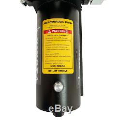 Air Hydraulic Foot Pump with 6ft Hose and Coupler 10000 PSI