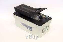 Air Hydraulic Foot Pump with Hose and Coupler 10000 PSI B-70PQ